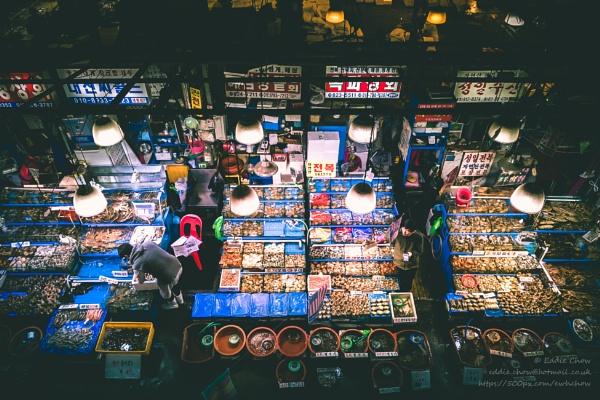 Noryangjin Fish Market by chowe328