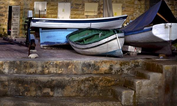 MARITIME Art ----- St Julian\'s Malta by Edcat55