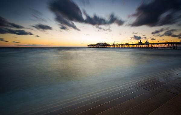 Sunset, North Pier