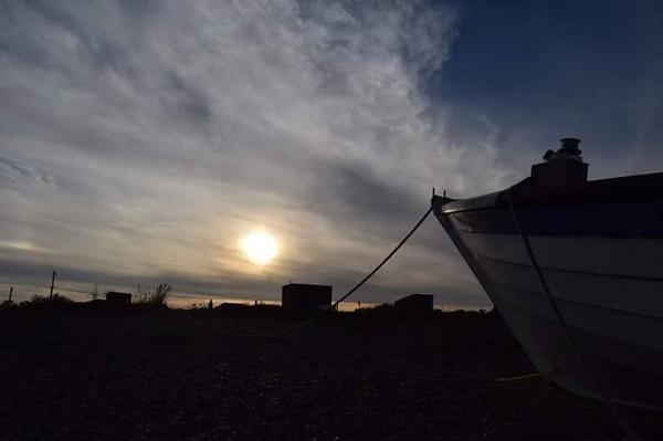 Sizewell sunset
