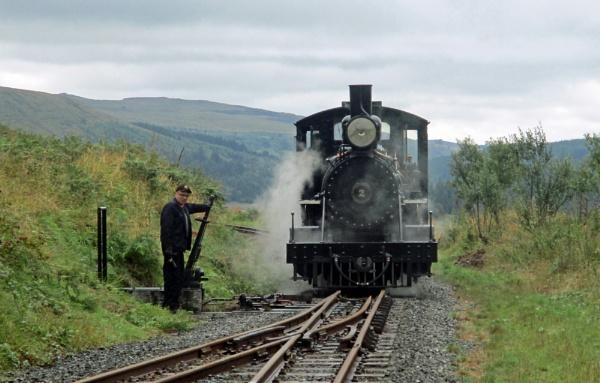 Locomotive No 2 by Hurstbourne