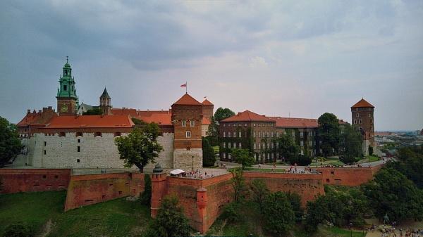 Krakow - Poland - drone by atenytom