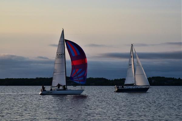 Evening sailing by djh698