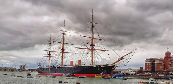 HMS Warrior by mohikan22