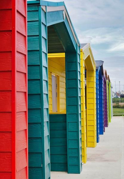Beach Huts by DaveRyder
