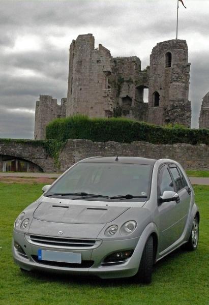 Trip to Raglan Castle. by GeeJoe