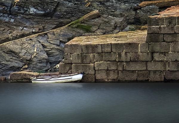 Alongside the Harbour Wall by AlfieK