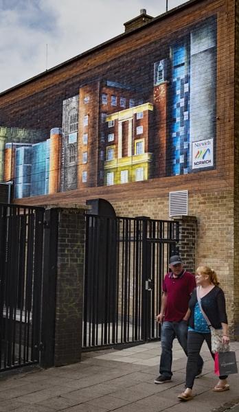 Norwich Wall Art by AlfieK