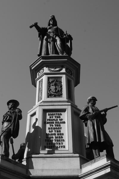 "~ \""Rhode Island War Memorial Statue\"" by LexEquine"