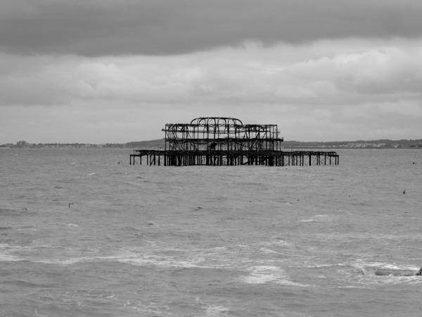 West Pier Brighton by happysnapperman