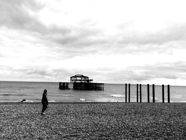 Pebble beach stroll by happysnapperman