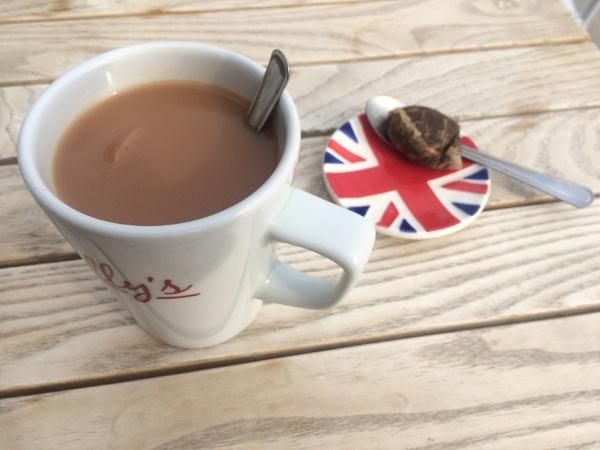 Mug of tea by happysnapperman