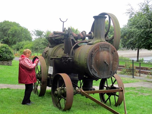 Steam Artefact by Hurstbourne