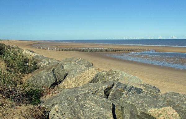 A Skegness Beach by Hurstbourne