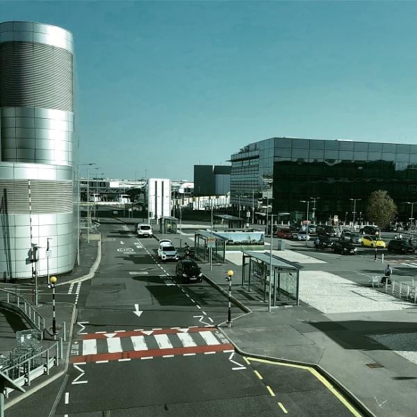 Terminal 3 arrivals, Heathrow, London, UK by magsyuk