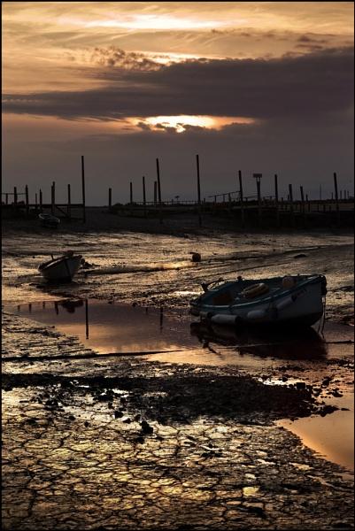 Morston Quay low tide. by Niknut
