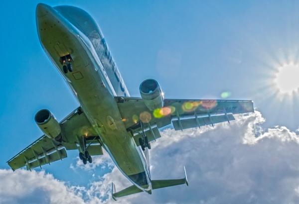 The Airbus Beluga Landing by simonmisterbig