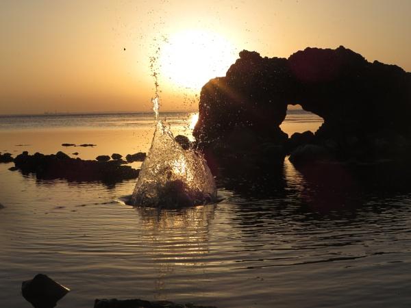 water splash by bulbulov