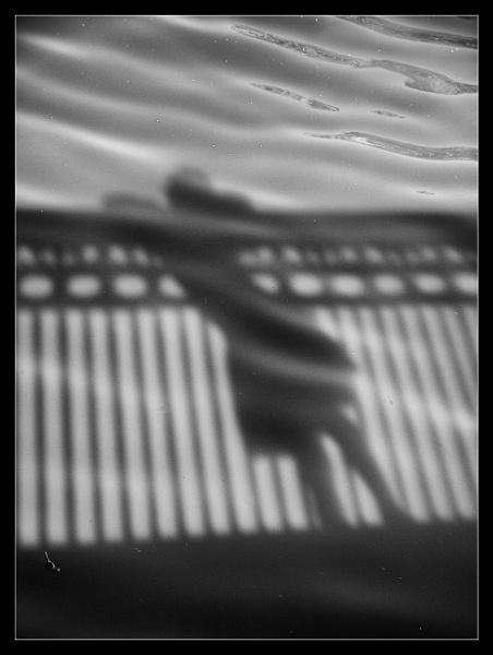 Girl on Bridge by BobDraper