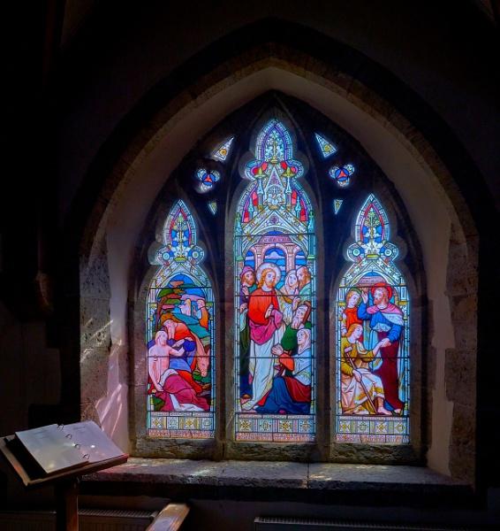 Church Window by JJGEE