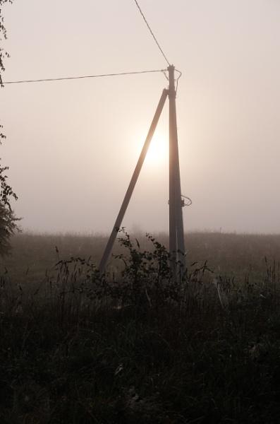 Sun mist by Algimantas