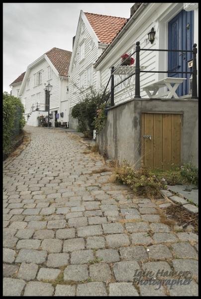 Stavanger Cobbled street by IainHamer