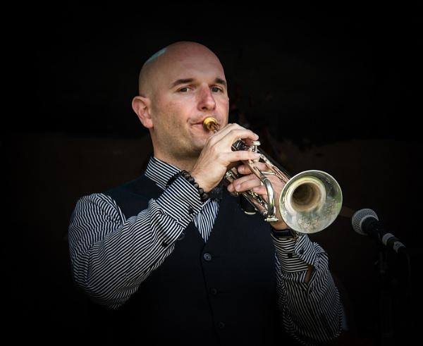 Jazz Trumpeter by dven