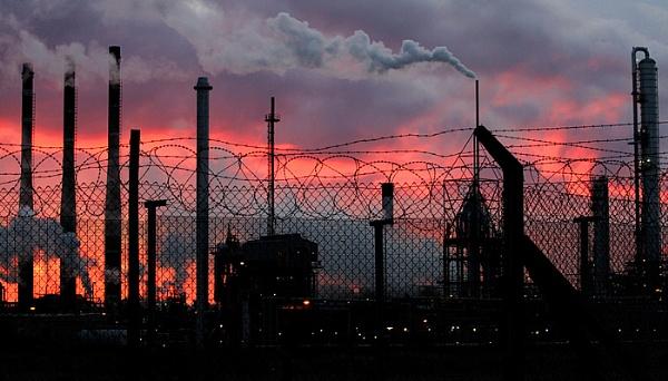 Industrial sun rise 2 by Trevrox