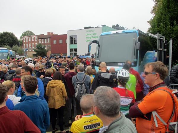 Spectators by Hurstbourne