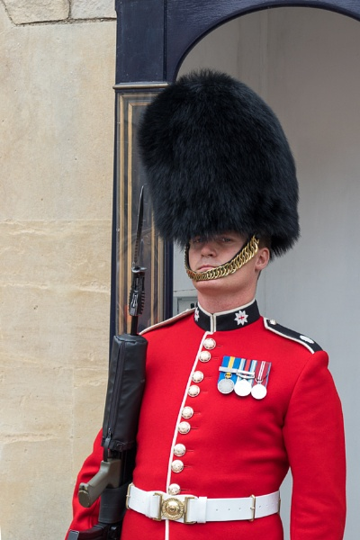 WINDSOR, MAIDENHEAD & WINDSOR/UK - JULY 22 : Coldstream Guard on by Phil_Bird