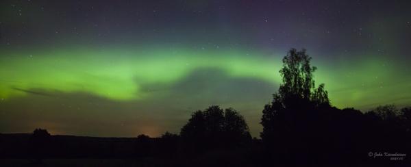 Aurora borealis by jupokoo