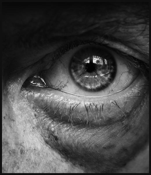 Monochrome Eye by Morpyre