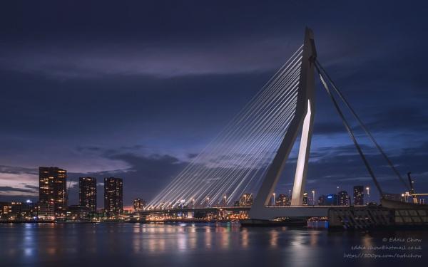 Erasmus Bridge (III) by chowe328