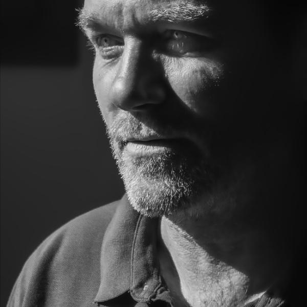 Portrait of a Painter: Sandor Kovac by nonur