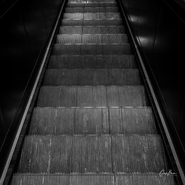 Week 36/52 - Escalator by MonochromeTear