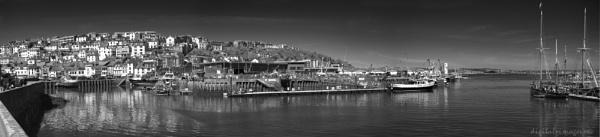 Brixham Harbour Pano II by Alan_Baseley