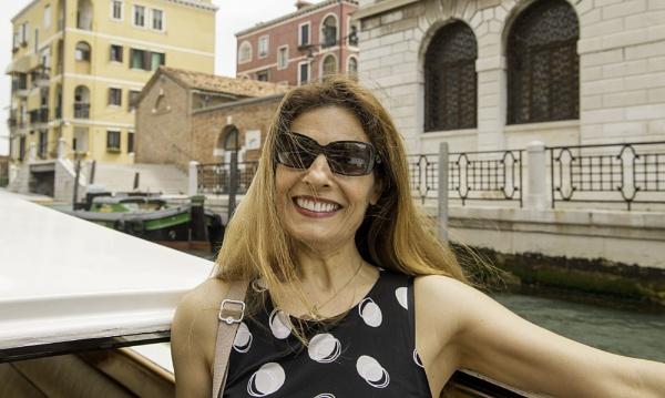 Hassana ... from France ... in Venice