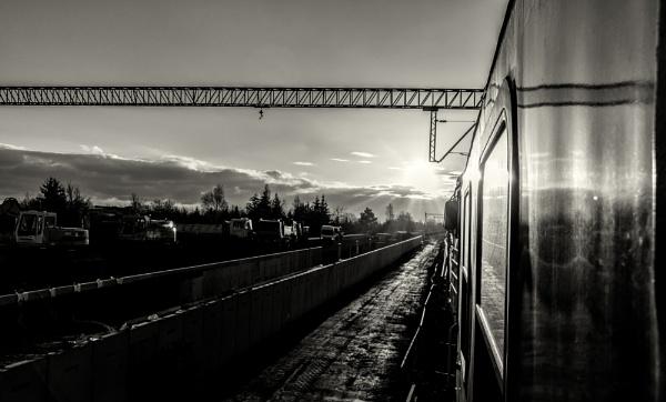 the morning sun by mogobiker