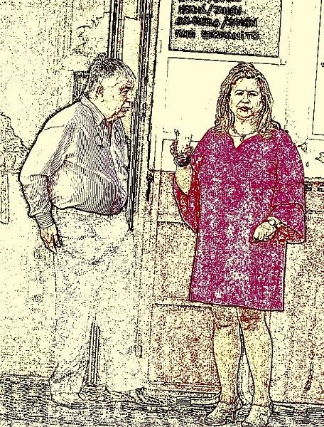 Spanish couple. by rustyshackleford