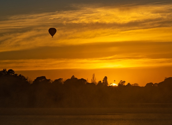 Rise Up Early, Lake Burley Griffin, Canberra by BobinAus