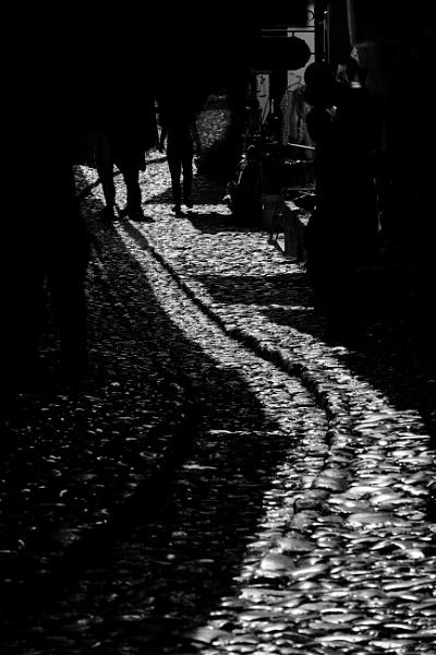 Cobblestones- Kruje Albania by Backabit