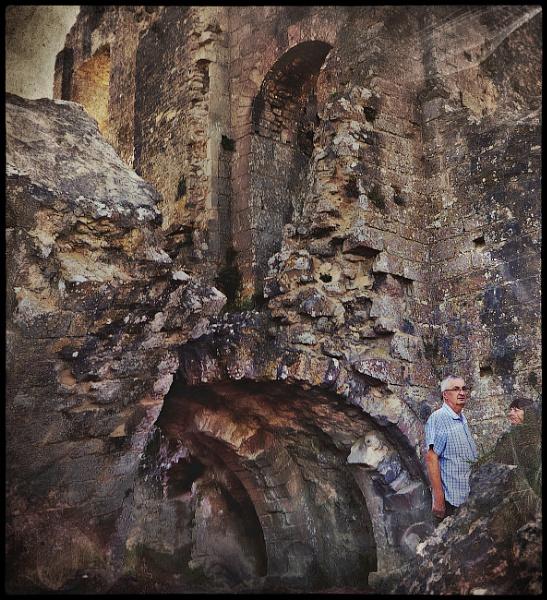 Exploring History In Corfe Castle. by ThePixelator