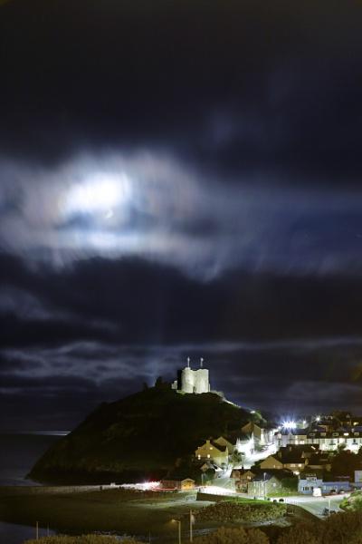 Criccieth Castle Moonlight by CraigB