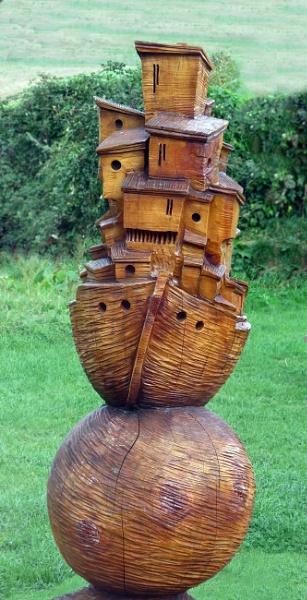 Daniel Cordell Wood Carving by KarenFB