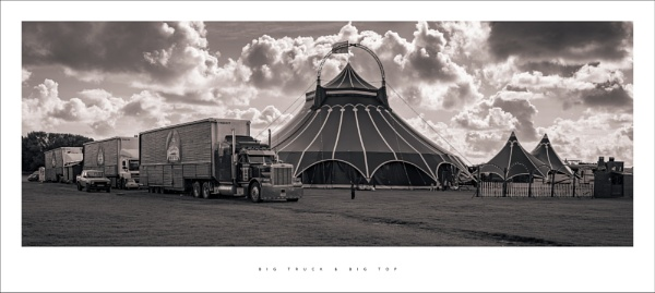 Big truck and big top by parallax