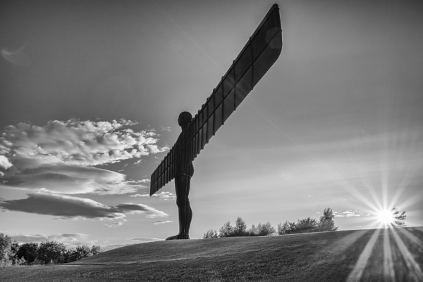 An Evening At The Angel Of The North by pughs