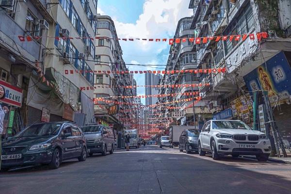 Hong Kong Street View by manicam