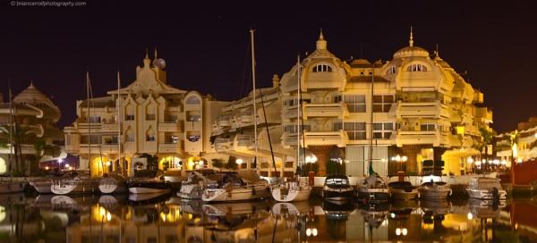 Benalmadena marina, near Malaga, Spain by brian17302