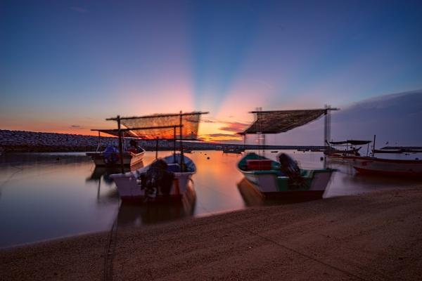 Sunrise at Tok Jembal Beach