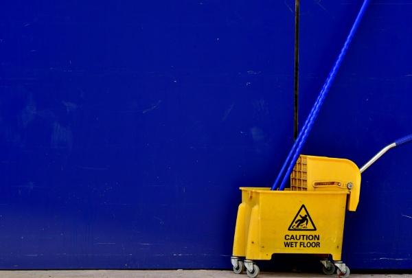 Caution Wet Floor by Savvas511